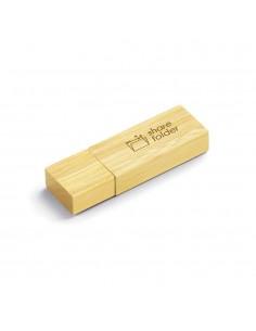 CHIAVETTA USB 4 GB IN BAMBU