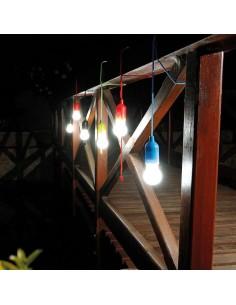LAMPADA PORTATILE IN ABS E PP CON LED E CORDA