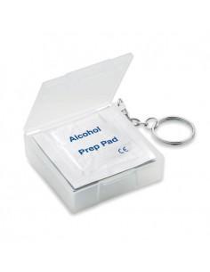 BOX CON 10 SALVIETTE UMIDIFICATE ALCOL AL 70%