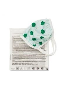Mascherina in cotone e pet riciclato misura adulti e bambini