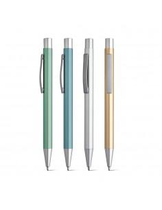 Penna a sfera con clip e rifiniture opache