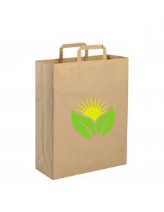 Shopper in carta riciclata cm 22x29x10