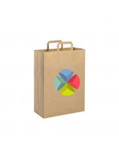 Shopper in carta riciclata cm19x24x7