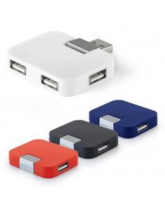 HUB 2.0 CON 4 PORTE USB