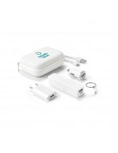 SET DI BATTERIE E ADATTATORI USB E ABS